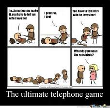 Meme Telephone - the ultimate game of telephone by christian meme center