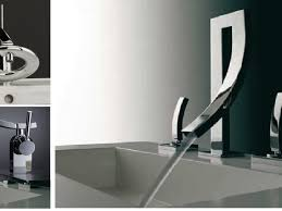 designer bathroom fixtures bathroom faucets beautiful modern faucets single bathroom