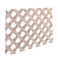 timber lattice trellis panel h 0 6m w 2 44 m departments diy