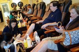 farrell real men bring their man feet to the nail salon island
