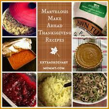 make ahead thanksgiving recipes pretty extraordinary