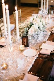 pink rosette table runner soft romantic mountain wedding elizabeth anne designs the