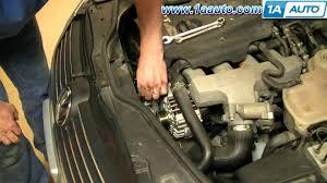 how to install replace engine serpentine belt tensioner volkswagen