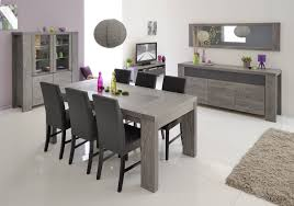 Meuble Salon Chene Clair by Beautiful Table Salle A Manger Gris Clair Photos Awesome