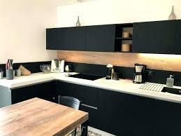 cuisine blanche et noir cuisine bois et blanc cuisine bois ikea free prfrence cuisine bois