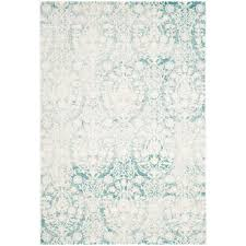 Safavieh Kids Rugs by Safavieh Passion Turquoise Ivory 4 Ft X 5 Ft 7 In Area Rug