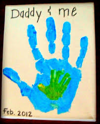preschool crafts for kids father u0027s day handprint