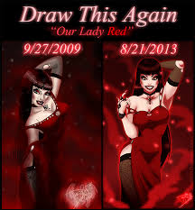 draw this again our redd by dj88 on deviantart