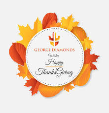i wish you a happy thanksgiving george diamonds georgediamonds twitter