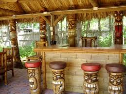 Best TikiPirate Themed Backyard Images On Pinterest Backyard - Tiki backyard designs