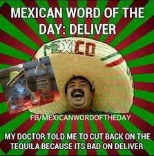 Mexican Meme Jokes - mexican word of the day deliver