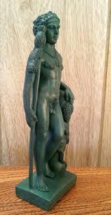 greek god statues and male heroes statues