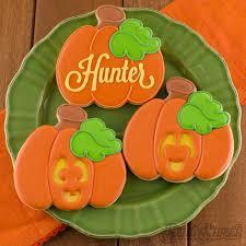 how to make jack o u0027 lantern cookies semi sweet designs