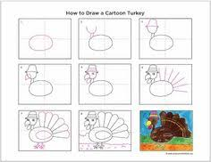 learn to draw a turkey re pinned by pediastaff visit