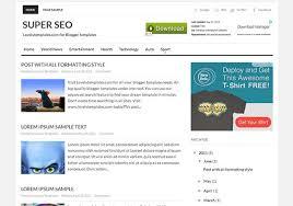 50 most liked blogger templates pixelpush design