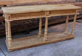 Reclaimed Wood Console Table 15 Collection Of Reclaimed Wood Console Table