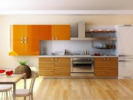 kitchen furnitures 2017 new design kitchen cabinets orange color modern high gloss