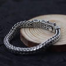 solid sterling silver mens bracelet images Vintage solid 925 sterling silver keel thick men bracelet 159 45 jpg