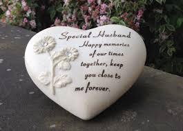 design grave ornament for special husband funeral memorial