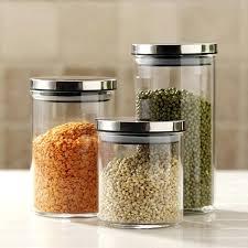 glass canister set for kitchen glass kitchen canister sets lesmurs info