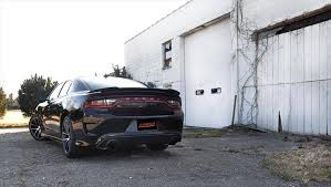 dodge charger hellcat black corsa sport cat back exhaust black dodge charger scatpack srt