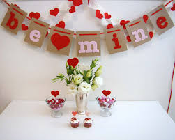 Valentine Home Decorations Decorations Love Be Mine Letter Chain Valentine Wall Decoration
