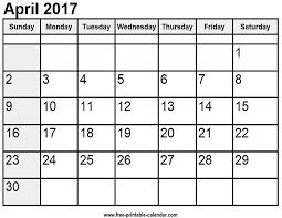 print calendars for 2017 calendar april 2017 free printable calendar com