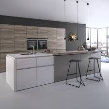 cuisine bois et blanc laqué cuisine bois et blanc laque avec plan de travail lzzy co