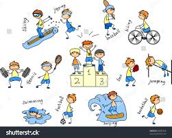 cartoon sport icon stock vector 85089748 shutterstock