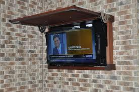 outdoor tv cabinet enclosure fascinating outside tv enclosure outdoor wall cabinet weatherproof