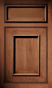 a maple door done in the kent door style with a nutmeg umber glaze
