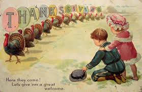 20 and vintage thanksgiving postcards vintage everyday