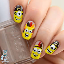 thanksgiving day nail art image collections nail art designs