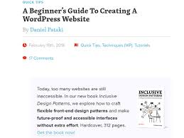 wordpress quick tutorial wordpress tutorials from beginner to advanced level