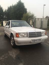 1993 mercedes benz 190 e for sale classic cars for sale uk
