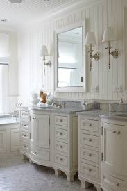 Bathroom With Beadboard Walls by Beadboard Floor To Ceiling Bathroom Transitional With Floating