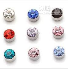 boy earrings wholesale fashion magnet earrings no ears pierced ear clip the