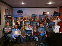fellowship outing at mastermind escape games schaumburg rotary