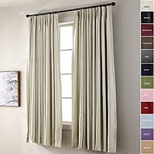 Patio Door Curtains Chadmade Pinch Pleat 100w X 84l Inch Solid Thermal