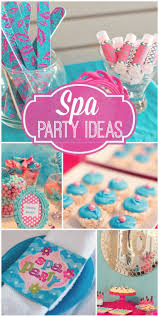 How To Decorate Birthday Party At Home by Best 25 Teen Spa Party Ideas On Pinterest Teen Birthday