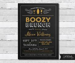 birthday brunch invitations items similar to chalkboard bridal brunch invitation birthday