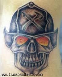 for unique skulls tattoos tattoos fireman skull