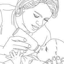 baby coloring pages drawing kids reading u0026 learning