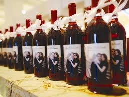 7 wine wedding favors we - Wine Wedding Favors