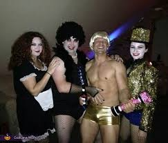 Rocky Horror Picture Show Halloween Costumes Rocky Horror Picture Show Group Halloween Costume
