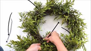 how to make a wreath for cheap youtube