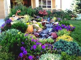 Backyard Flower Bed Ideas Design Garden Simple Flower Garden Design Ideas Carolbaldwin