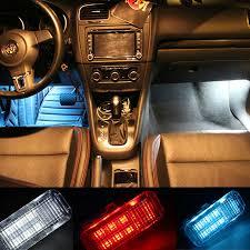 led lights for cars store car led foot lights for vw cc sagitar magotan tiguan touran golf 6