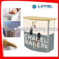 Exhibition Reception Desk China Promotional Modern Reception Furniture Exhibition Tables