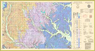 Map Of Wichita Ks Kgs Geologic Map Chautauqua Large Size
